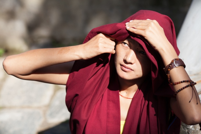 Buddhist Nuns Debate at Dolma Ling Nunnery